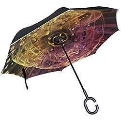"""Paraguas """"Profundidad de Infinito Fractal"""" Grande"""