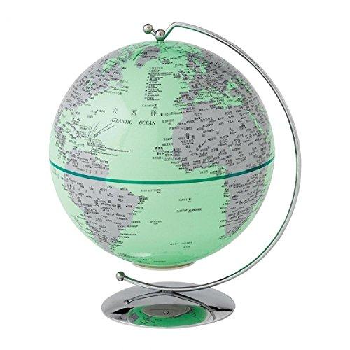 Globe Collection Globe terrestre lumineux a27304 Vert 13 cm