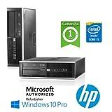 517aIxR1tzL. SL160  - PC HP Compaq 8200 Elite Core i5-2400 3.1GHz 4Gb Ram 250Gb DVD-RW SFF Windows 10 Professional - MAR (Ricondizionato Certificato)