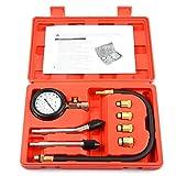 Motor Zylinder Druck Gauge Diagnosegerät Kompression Tester Set Kit Gauge Auto Ventil Motorrad
