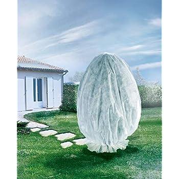 OSE Housse dhivernage pour Plante Beige 120 x 180 cm