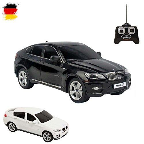 BMW X6-RC ferngesteuertes Licence de voiture dans Design Original, modèle échelle: 1: 24, avec télécommande