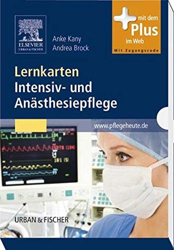 Lernkarten Intensiv- und Anästhesiepflege: mit www.pflegeheute.de - Zugang