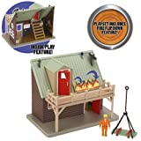Fireman Sam Playset With Figure - Mountain Lodge