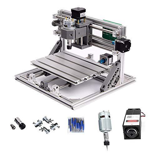 CNC 1610+ 2500mW láser máquina grabado CNC PCB
