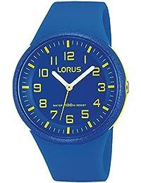 Lorus par Seiko RRX51DX9Unisexe Bleu montre de sport avec bracelet en résine