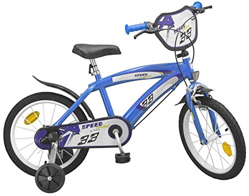 "16"" 16 Zoll Kinderfahrrad Kinder Jungen Fahrrad Rad BMX Bike Jungenfahrrad SPEED BLAU"
