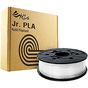 XYZprinting RFPLCXEU06C PLA Filament Patrone für 3D-Drucker 600 g weiß
