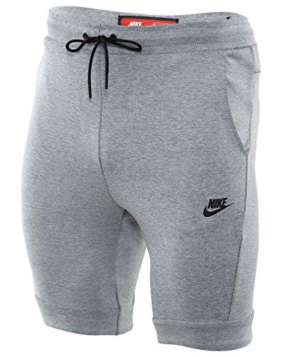 Nike M NSW TCH FLC Short, Shorts Weiß (weiß/htr/schwarz)