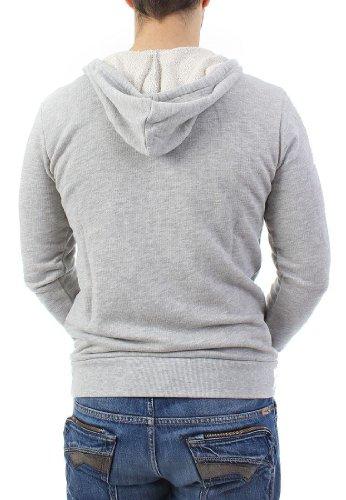 Boom Bap Sweater Men - POT - Mixed Grey Mixed Grey