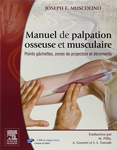 Manuel de palpation osseuse et musculaire: Points gchettes, zones de projection et tirements