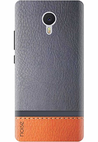 Designer Printed Back Case / Cover for Meizu m3 note / Patterns & Ethnic / Blue N Brown Leather – By Noise (GD-52)