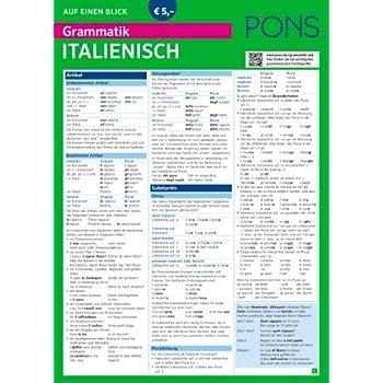Italienische Grammatik Pdf