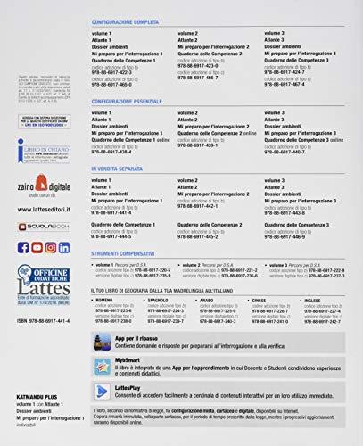 Katmandu plus. Per la Scuola media. Con e-book. Con espansione online. Con 3 Libro: Atlante-Doss. Ambienti-Mi prep. Int.: 1