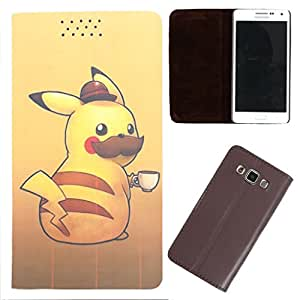 DooDa - For Micromax Canvas knight PU Leather Designer Fashionable Fancy Flip Case Cover Pouch With Smooth Inner Velvet