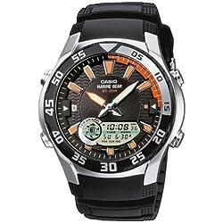 Casio Collection Reloj Analógico/Digital de Cuarzo para Hombre con Correa de Resina – AMW-710-1AVEF