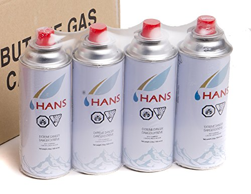 Hans Butane Gas Pack Of 4