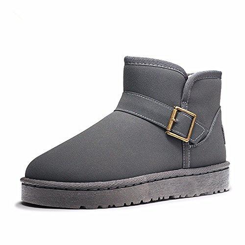 FLYRCX Onorevoli Winter Snow Boots con morbido e confortevole antiscivolo per scarpe caldo cashmere B