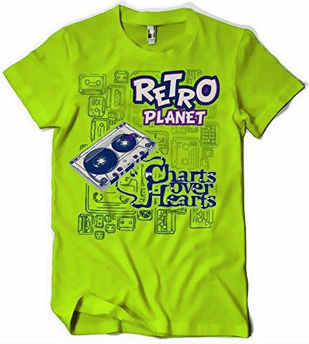 Camisetas La Colmena, 029-Camiseta Retro Planet