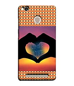 PrintVisa Designer Back Case Cover for Xiaomi Redmi 3s Prime :: Xiaomi Redmi 3 Plus (Hearts Love Dots Circles Diamonds)