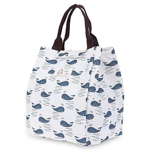 Weimay Bolsa de lona portátil de almuerzo, impermeable personalizado reutilizables bolsas de...