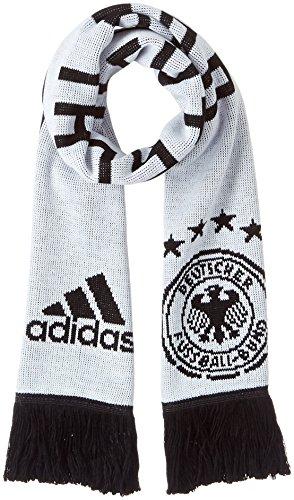adidas Herren DFB Heim Schal, White/Black, OSFM