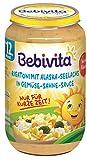 Bebivita Menüs ab 12.Monat Limitiert Sonne: Rigatoni mit Seelachs in Gemüse-Sahne-Sauce, 6er Pack (6 x 250 g)