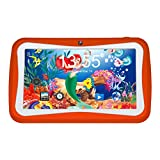 Kivors - Tablet da 7'' Android Quad Core a 1,2 GHz per bambini, RAM da 1 GB e ROM da 8 GB, orange