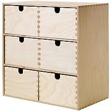 IKEA MOPPE - Mini cajonera, contrachapado de abedul - 31x18x32 cm