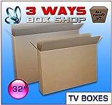 TV LCD Plasma Removal Cardboard Box (32 inch)