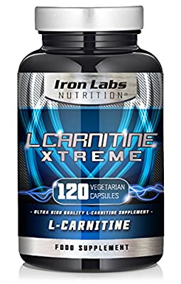 L Carnitine Xtreme | 500mg x 120 Capsules | Ultimate L Carnitine Tartrate | Vegetarian Capsules