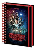 Stranger Things Notebook a Spirale, Multicolore, A5