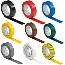 9 rotoli VDE electrical tape insulating tape
