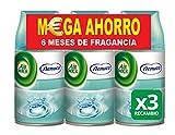 Air Wick Freshmatic Max Ambientador de Recambio Triplo Nenuco - Pack de 3 x 250 ml - Total: 750 ml