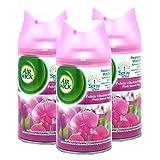 3 x Max Air Wick Freshmatic Refill 250 ml, Pink (Sweet Pea