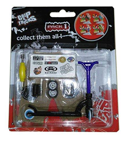 Grip & Tricks - Finger SCOOTER - Skate - Pack1 - Dimensions: 22 X 13,5 X 2 cm (Razor Mini-scooter)
