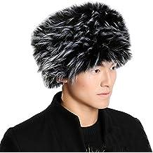 fe779954484e7 Modelshow Mujer Hombre Unisex Moda Cosaco Ruso Estilo Gorro Redondo  sintético Sombrero