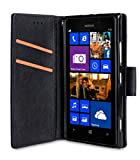 Melkco Kooso Koo Book für Nokia Lumia 925 schwarz quermuster