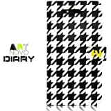 iPhone 4S / 4 Novoskins Houndstooth Diary Case ART NOVO COLLECTION Promotion Price Free Other iP4 Case