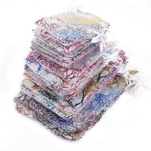 10pcs 7x9 9x12 10x15 13x18cm WhiteCoralBags embalaje
