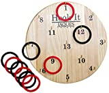 Jaques of London Hoopla - Hook It Garden HOOPLA Game and Played Like Ring Toss or Darts - the Popular Indoor Toys - Play and learn Since 1795