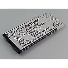 vhbw Li-Ion Akku 2200mAh (3.85V) für Handy Smartphone Telefon Nokia Lumia 550, 730, 730 Dual SIM, 735, 735 Dual SIM, 738, RM-1038, RM-1040