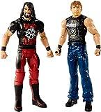 WWE- D'AMBROSE/Rollins Due Personaggi articolati 15cm Ragazzo, Multicolore, 15 cm, FMF91