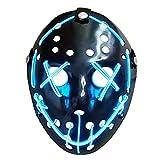 Mallalah Maschera di Halloween Light Up Maschera Purge Jason Spaventoso Maschera per Costume Maschere per...