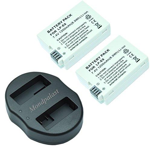 mondpalast-2x-remplacement-batterie-lp-e8-lpe8-lp-e8-1200-mah-li-ion-type-avec-info-chip-1x-usb-port