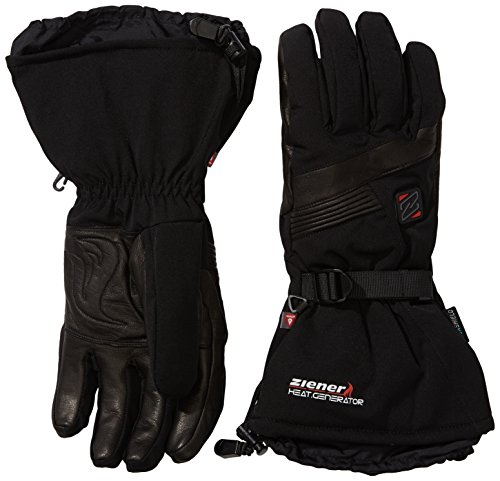 Ziener Erwachsene Handschuhe Gasper AS PR Hot Gloves Ski Alpine, Black, 8.5, 991070