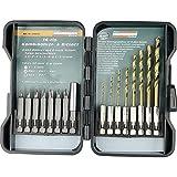Brüder Mannesmann Werkzeuge Mannesmann 16-teiliger Bohrer- und Bitsatz, M54325