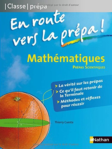 Mathématiques MPSI - PCSI - PTSI - En Route Vers la Prepa