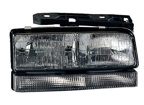Depo 332-1148R-FSUO Buick LeSabre/Park Avenue Passenger Side Replacement Headlight Assembly with Corner Light by Depo
