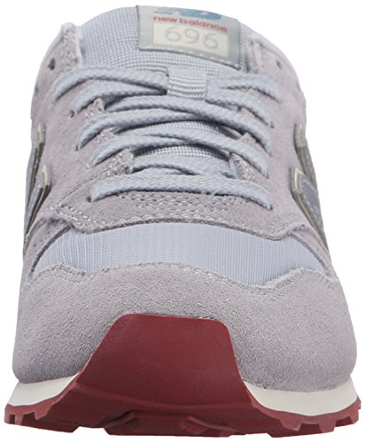 New Balance Women's 696 Clean Composite Pack Lifestyle Sneaker Mink/Powder